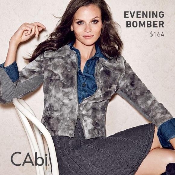 CAbi Jackets & Blazers - Cabi evening bomber #150 limited edition size XS